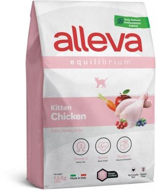 """""""Alleva Equilibrium с курицей"""" сухой корм для котят и беременных кошек"""
