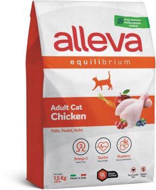 """""""Alleva Equilibrium с курицей"""" сухой корм для взрослых кошек"""