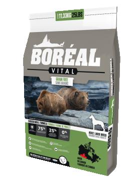 Boreal Vital с курицей сухой корм для собак крупных пород