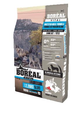 Boreal Vital с белой рыбой сухой корм для собак всех пород