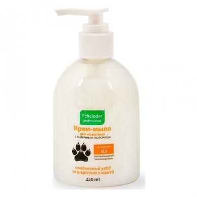 ПчелодарКрем-мыло с маточным молочком для лап животных 250мл