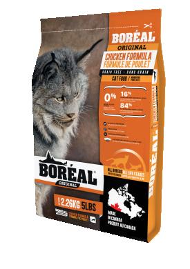 Boreal Original с курицей сухой корм для кошек всех пород