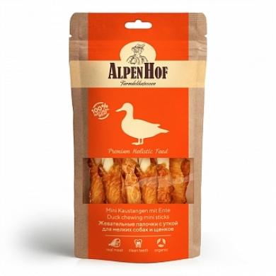 AlpenHofЖевательные палочки с уткой лакомство для собак и щенков мелких пород